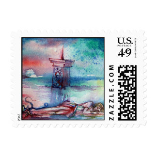 GNOMON AND LADY OF THE LAKE POSTAGE