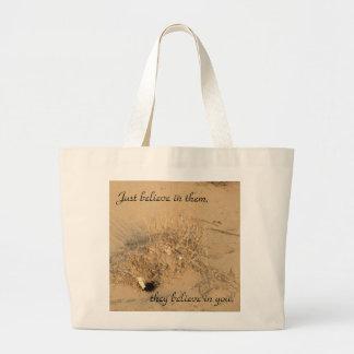 Gnomos del desierto bolsa tela grande