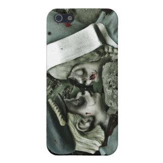 gnomos del jardín del zombi iPhone 5 carcasas