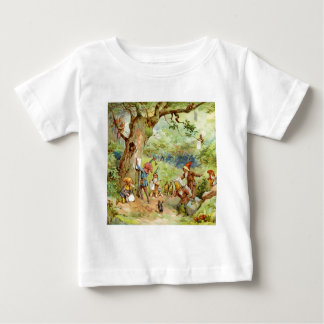 Gnomos, duendes y hadas en el bosque mágico camiseta