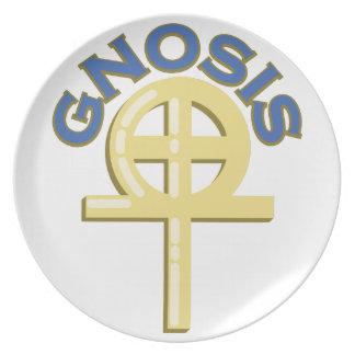 Gnosis Melamine Plate