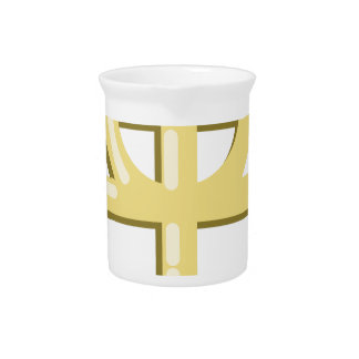 Gnostic Cross Drink Pitcher