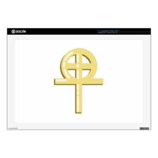 Gnostic Cross Laptop Skin