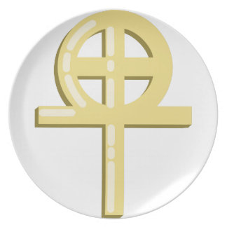 Gnostic Cross Plate