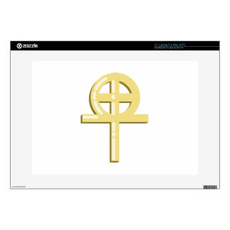 Gnostic Cross Skin For Laptop