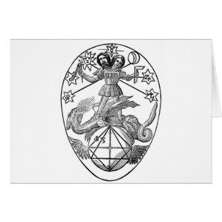 Gnostic Talisman Greeting Card