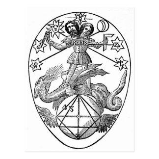 Gnostic Talisman Postcard