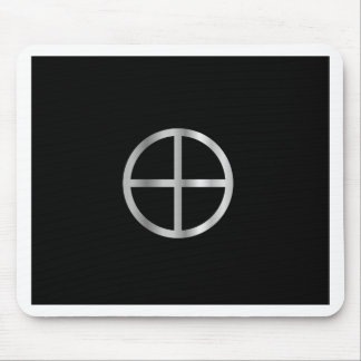 Gnosticism Sun cross Mouse Pad