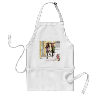 Gnu Age Hipsters Funny Adult Apron