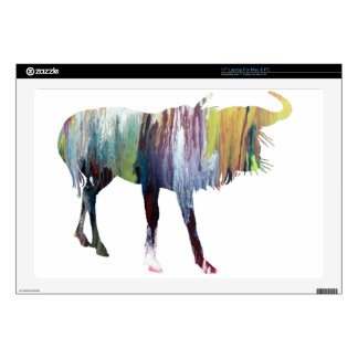Gnu art decals for laptops