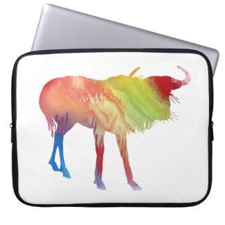 Gnu art laptop sleeve