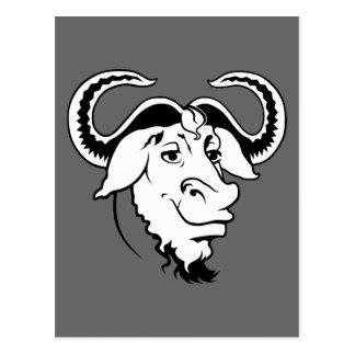 GNU clásico Tarjeta Postal