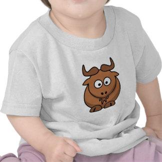 Gnu de Brown Camiseta