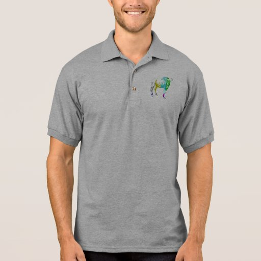 Gnu de la TV en el bolsillo Polo Camiseta