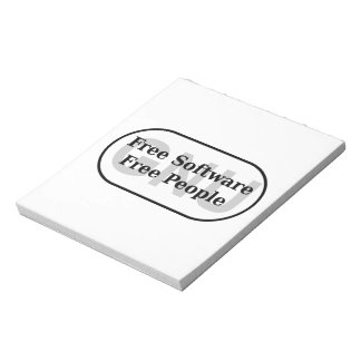 GNU - Free Software - Free People Notepad