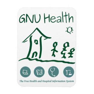 GNU Health magnet