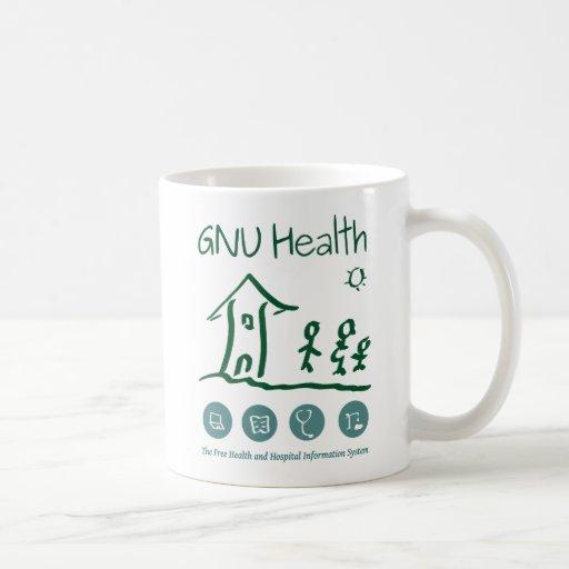 GNU Health Mug Taza Clásica