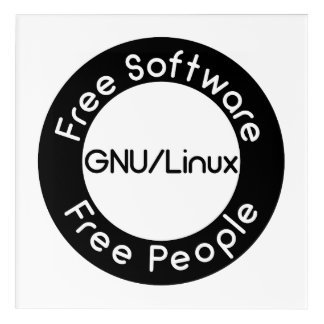 GNU/Linux Acrylic Wall Art