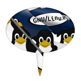 ¡GNU/Linux! Figuras De Tarta