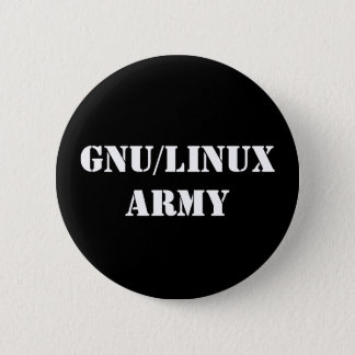 GNU/Linux Army Button