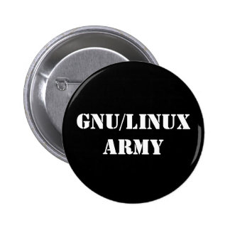 GNU/Linux Army Button