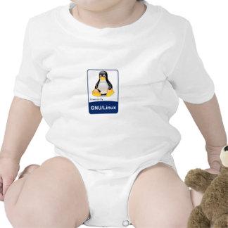 GNU/Linux Baby Bodysuit