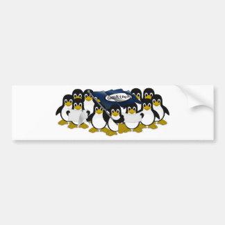 ¡GNU/Linux! Pegatina De Parachoque