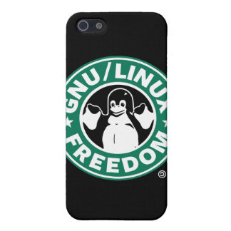 Gnu Linux Freedom iPhone 5 Covers