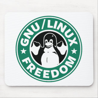 Gnu Linux Freedom Mouse Pad