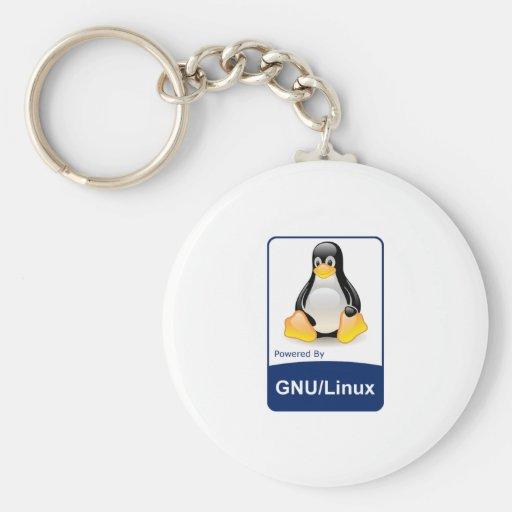 GNU/Linux Llaveros Personalizados