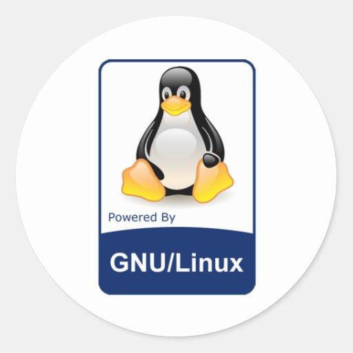 GNU/Linux Pegatinas