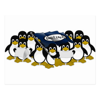 GNU/Linux! Postcard