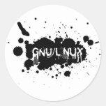 Gnu/Linux Slash Adesivo