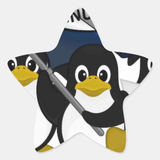GNU/Linux! Star Sticker
