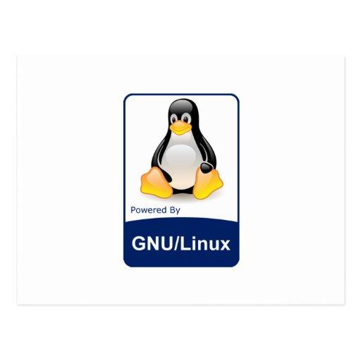 GNU/Linux Tarjeta Postal