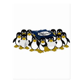 ¡GNU/Linux! Postales