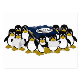 ¡GNU/Linux! Tarjeta Postal