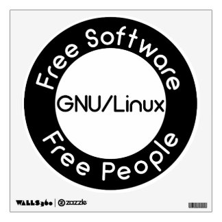 GNU/Linux Wall Decal
