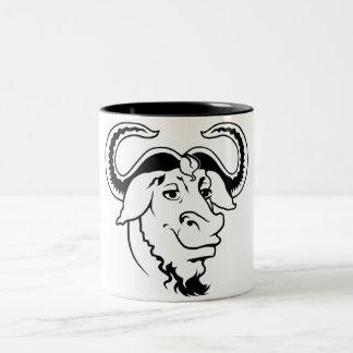 GNU Mug Taza