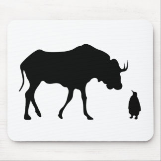 GNU NOT LINUX MOUSE PAD