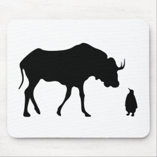 GNU NOT LINUX MOUSE PAD