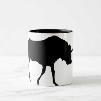 GNU NOT LINUX Two-Tone COFFEE MUG