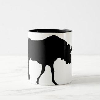 GNU NOT LINUX Two-Tone COFFEE MUG