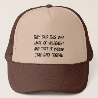 Gnu Shirt Trucker Hat