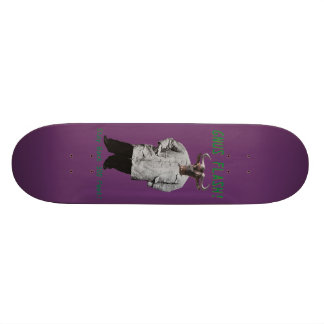 Gnus Flash! STAY BACK 300 FEET! Skateboard