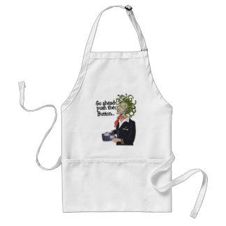 go ahead adult apron