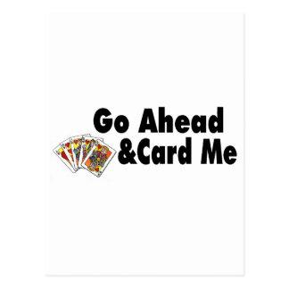 Go Ahead & Card Me Post Cards