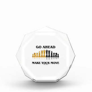 Go Ahead Make Your Move (Reflective Chess Set) Award