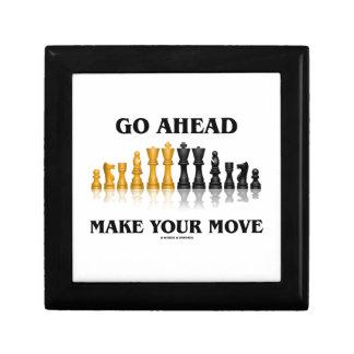 Go Ahead Make Your Move (Reflective Chess Set) Gift Box