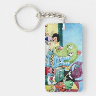 Go Ahead! Monsters Team! Acrylic Keychains